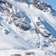 Pizol, famous Swiss skiing resort — Stock Photo