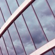 Glass wall of an office building — Stock Photo #21017477