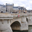 Stock Photo: Pont-Neuf bridge in Paris