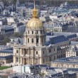 Dome of Les Invalides in Paris, France — Стоковая фотография