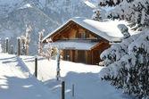 Alpine scenery — Stock Photo