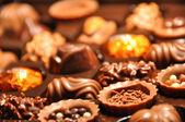 Swiss chocolate — Stock Photo