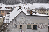 Antiga fábrica de chocolate em berna, suíça — Foto Stock