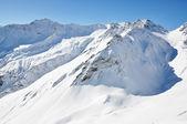 Pizol, famous Swiss skiing resort — Stock Photo