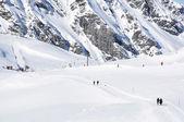 Pizol、有名なスイスのスキー リゾート — ストック写真