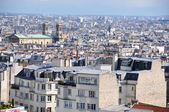 Aerial view of Montmartre, Paris — Stock Photo