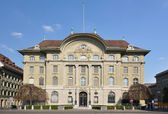 National Bank of Switzerland in Bern — Stock Photo