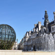 Paris City Hall (Hotel de Ville) — Stock Photo