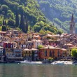 Varenna town at the famous Italian lake Como — Stock Photo