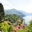 Bellagio town at the famous Italian lake Como  — Stock Photo