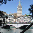 St. Peter's church in Zurich — Stock Photo