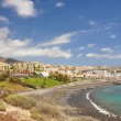 Luxury hotels at Torviscas Playa. Tenerife island, canaries — Stock Photo #21027893