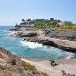 Rocky coast of Costa Adeje.Tenerife island, Canaries — Stock Photo