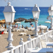 Stock Photo: Cafe on beach of Tenerife, Canaries