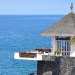 Ocean side restaurant. Tenerife, Canaries — Stock Photo #21028521