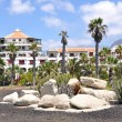 Stock Photo: Holiday villas in CostAdeje.Tenerife island, Canaries