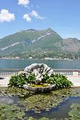 Parque de villa melzi en bellagio en el famoso lago italiano — Foto de Stock
