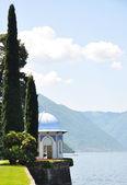 Alcove, alps, architecture, bellagio, blue, city, coast, como, c — Stock Photo