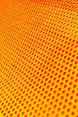Red hot metal mesh — Stock Photo