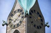 St. Peter church in Zurich — Stock Photo