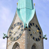 St. Peter church in Zurich — Stock Photo