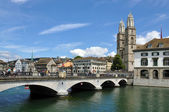 Zurich downtown — Stock Photo