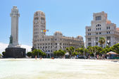 Spain square of Santa Cruz. Tenerife island, Canaries — Stock Photo