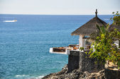 Ocean-side restaurant. Tenerife, Canaries — Stock Photo