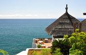 Ocean side restaurant. Tenerife, Canaries — Stock Photo