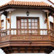 Stock Photo: Traditional Spanish balcony. Garachico, Tenerife, Canaries