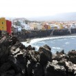 Scenic coast of Puerto de la Cruz, Tenerife island — Stock Photo