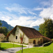Stock Photo: Old stable. Switzerland