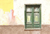 Shut window. Puerto de la Cruz, Tenerife, Canaries — Stock Photo