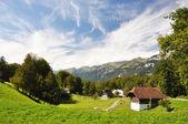 Pueblo suizo — Foto de Stock