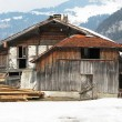 Stock Photo: Old rural house in Engelberg, Switzerland