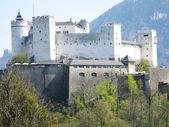 Hohensalzburg fortress. Salzburg, Austria — Stock Photo