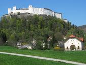 Hohensalzburg fortress in Salzburg, Austria — Stock Photo