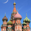 St. Basil cathedral in Moscow — Stock Photo