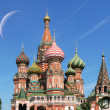 St. Basil cathedral in Moscow — Stock Photo #21051825