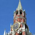 Famous Kremlin tower — Stock Photo
