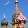 Stock Photo: St. Basil cathedral in Moscow