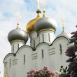 Stock Photo: Novodevichiy Convent in Moscow