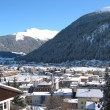 Winter view of Davos — Stock Photo