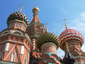 St. Basil cathedral on the Red Square, Moscow — Stock Photo