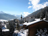 Davos, Switzerland — Stock Photo