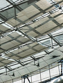 Ceiling of a modern building — Stock Photo