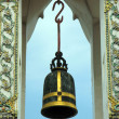 Ceremonial bell at Wat Po temple   — Stock Photo