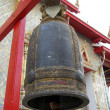 Ceremonial bells in Wat Arun Temple of Dawn in Bangkok - Stok fotoğraf