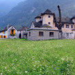 Stock Photo: Old Trattoriin Verzascvalley, Southern Switzerland
