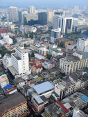 Aerial view of Bangkok — Stock Photo